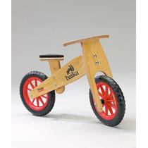 Bicicleta De Madera Sin Pedales Baika Sharpie La Original !
