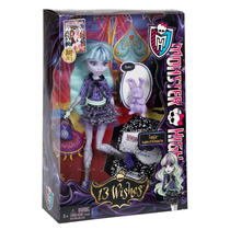 Monster High Twyla & Dustin 13 Wishes Bunny Toys