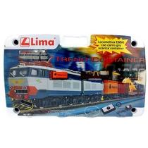 Set De Tren 656 With Gru And Container Lima Ho