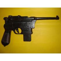 Antiguo Juguete Pistola Mauser C 96 Modelo 712 Muy Raro