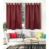 Cortina Blackout Textil Corta 1,45 X 1,30 Lista P/ Colgar