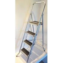 Escalera Metalica Plegable 4 Escalones