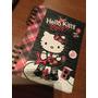Cuaderno Escolar Hello Kitty Rock Anillado Tapa Dura 96h