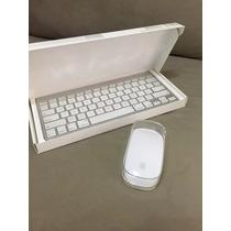 Teclado Y Mouse Inhalambrico Apple Mac Magic Mouse Original