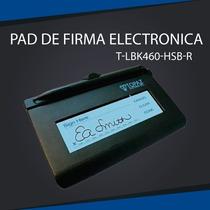 Pad De Firma Electronicatopaz Siglite T-lbk460-hsb-r Lcd 1x5