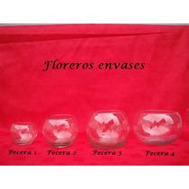 Lote De 5 Peceras3 De Vidrio - Bochines - Bochas -cilindros