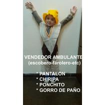 Disfraz Vendedor Ambulante Dama Paisana Negrita Coya Gaucho