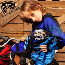 Conjunto Pantalon Y Jersey Rpm Niños Azul Motocros Atv Quad