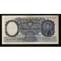 Guardia Imp. Banco Central 500 Pesos M/n 1957
