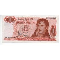 1 Peso Ley Bottero 2301 Año 1970 Exc.cd 4142