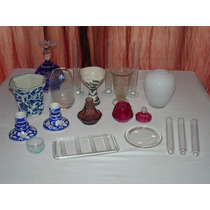 Objetos Vidrio Ceramica Varios