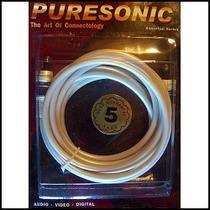 Cable De Fibra Óptica Toslink 3.0mt Punta Cerámica - Blister