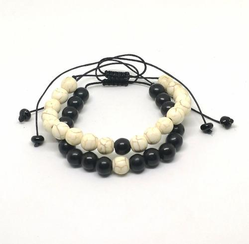 c0f84fb1b39e Pulsera Distancia - Yin Yang Piedras Naturales Unisex en venta en ...