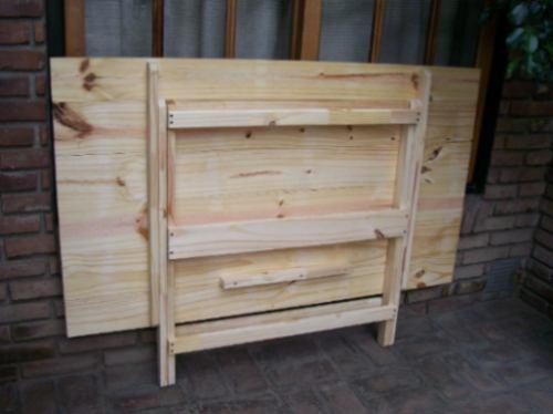 Construir mesa plegable cmo hacer una mesa plegable de - Como hacer patas de madera para mesas ...
