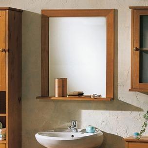 Espejo c repisa para ba o tama o 0 80 x 0 60 m m 7cm for Repisas para bano rimax