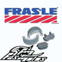 Pastillas Freno Del Frasle Honda Cg Titan 125 150 Rx Bk Fas