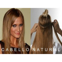 Cortinas De Cabello 100% Natural 70-80 Largo