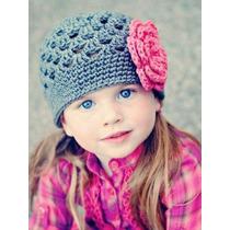 Gorros Tejida A Crochet De Bebes Y Niñas!!!