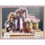 Servilletero Evento Personalizado Madera Transformers Optimu