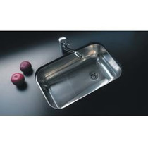 Pileta Johnson Acero Simple Modelo Z52 Para Cocina
