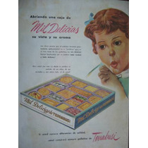 Terrabusi Publicidad Gráfica En Color De 1955
