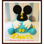 Torta Decorada Babe Mickey Mouse Baby X Kg