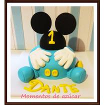 Torta Baby Mickey Mouse Bebe Como En Foto! X Kg