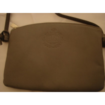 Cartera Via Borghese Milano Color Gris