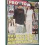 Revista Pronto 427 Tevez Leon Gieco Lacroix Christian Castro