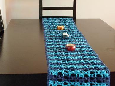 Caminos de mesa tejidos a crochet otros a ars 100 en for Camino mesa moderno