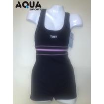 Malla Natacion Con Short, Aquasport, Modelo 110