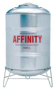 Tanque de agua acero inox affinity vertical especial 1000 Tanque de agua 1000 litros