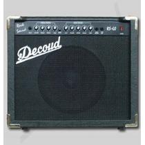 Amplificador Equipo P/ Guitarra Decoud Rs-60 60w