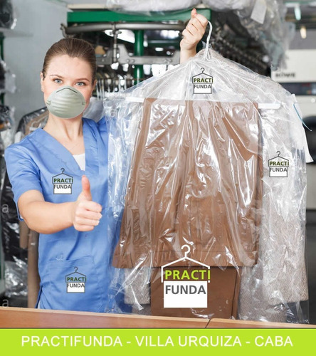 Fundas Cristal Ropa Trajes Camisas 60x90cm X 50 Unidades