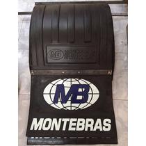 Guardabarro Pantalla C/ Barrero P/ Semi O Acoplado Montebras
