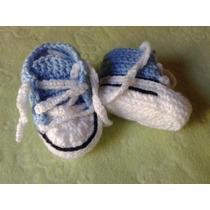 Converse Para Bebé En Crochet