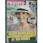 Revista Pronto 235 Xuxa Graciela Borges Rodrigo Alfano Macri
