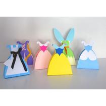 Cajas Souvenirs Cumple Princesas Blancanieves Cenicienta