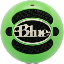 Microfono Usb Blue Snowball Neo Green - Fact. A Y B