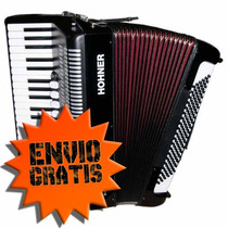 Acordeón A Piano Hohner Bravo Iii 120 Original Con Funda.-
