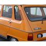 Para Renault 6 Burlete De Vidrio Fijo Trasero Derecho