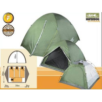 Carpa Iglu 4 Personas Waterdog Aconcagua Plus -local Palermo
