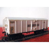 Vagon Tren De Carga Cerrado Frigorifico Escala Ho