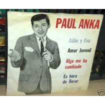 Paul Anka Adan Y Eva Simple C/tapa Argentino