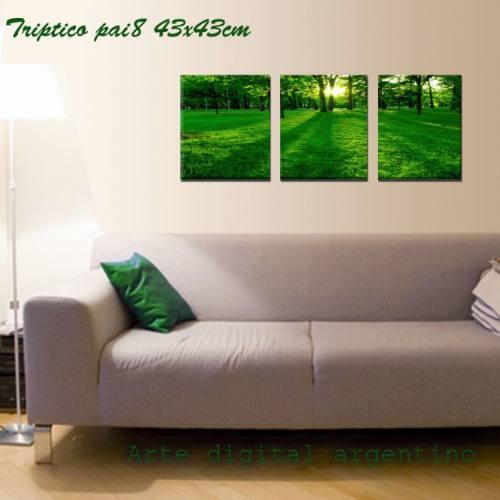 Cuadros tripticos modernos impresos cuadros a ars 210 en preciolandia argentina 7yuz9p - Triptico cuadros modernos ...