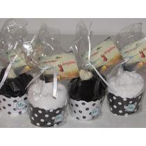 Pack X 10 Uni.souvenires Originales Cupcakes Toalla Y Jabon