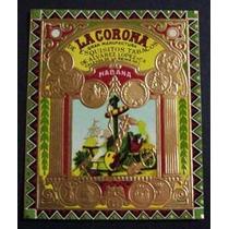 Lote De Etiquetas De Cigarros Cubanos La Corona (2)