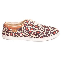 Zapatilla Paez Animal Print - Sneaker Leopard Mujer