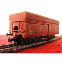 Vagon Avierto Con Compuertas Tren De Carga Marca Liliput