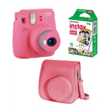 Combo Instax Mini 9 Selfie 10 Fotos Funda Carterita Original